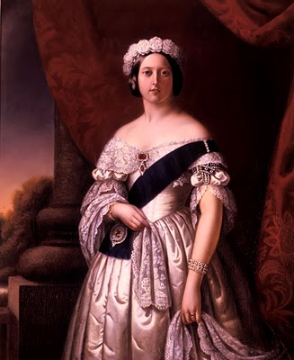 Queen Victoria of England, by Alexander Melville, 1845