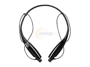 LG Behind-The-Neck Stereo Bluetooth Headset w/ Music Streaming/ Call Waiting Support (HBS-700)