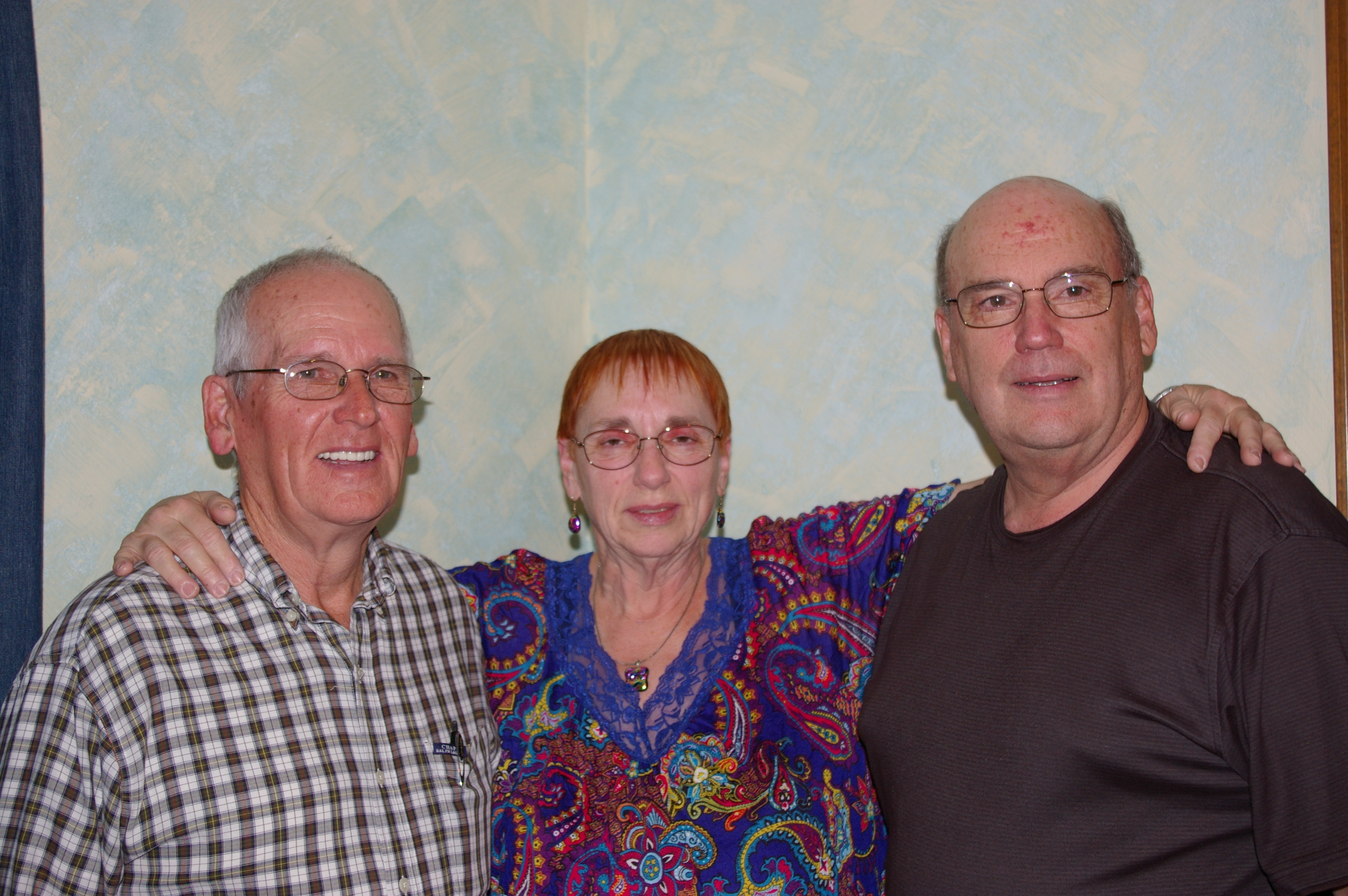 Dan, Jan and Ron (Nov 2012)