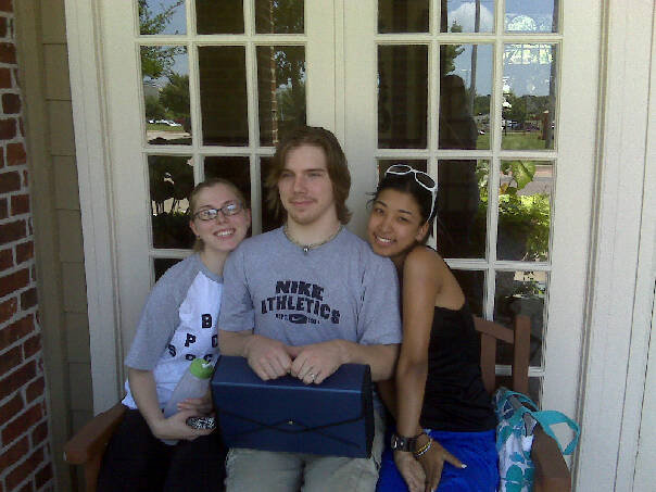 Derek, Royna and Rachelle all relocated to Texas (Plano and Denton respectively) in August 2009.