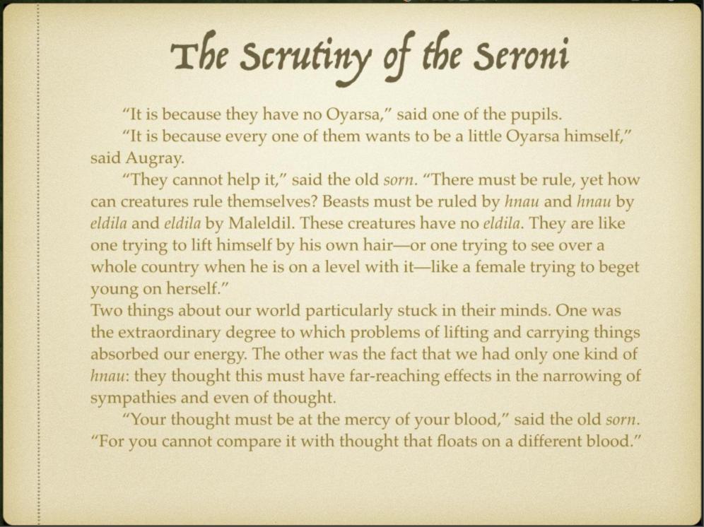 Week 4 Slide 10 The Scrutiny of the Seroni