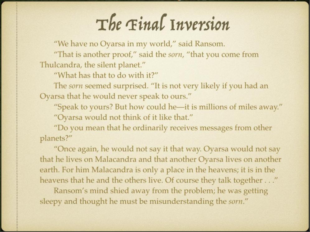 Week 4 Slide 7 The Final Inversion